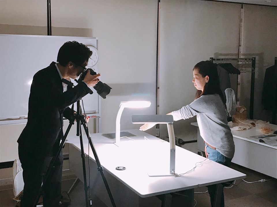 鍋坂樹伸さんによる写真撮影実践の様子
