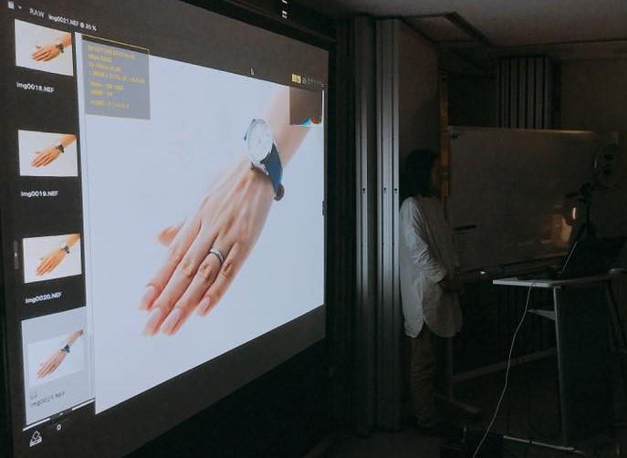 鍋坂樹伸さんが撮影した手の写真