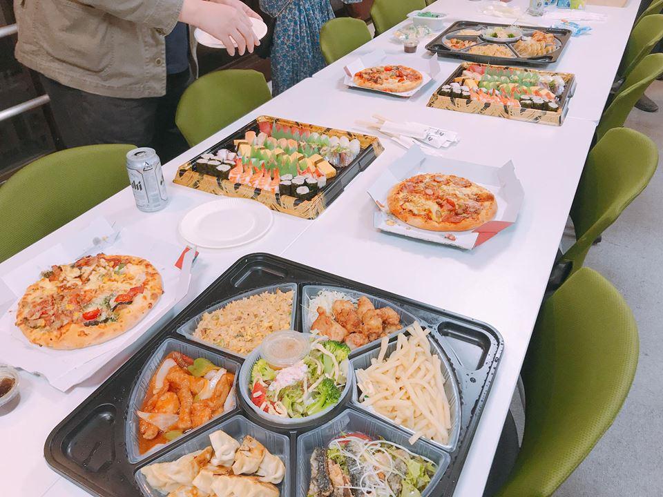 「複業のトリセツ」出版記念セミナー懇親会の料理